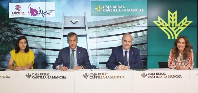 CONVENIO MATER-FUNDACION CAJA RURAL CLM